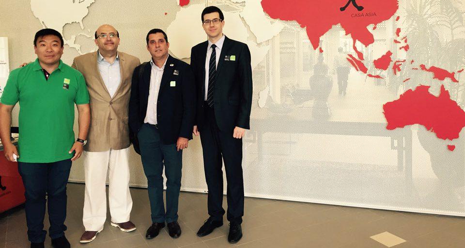 FUNIBER 参加亚洲之家在巴塞罗那举办的第三届亚洲研讨会
